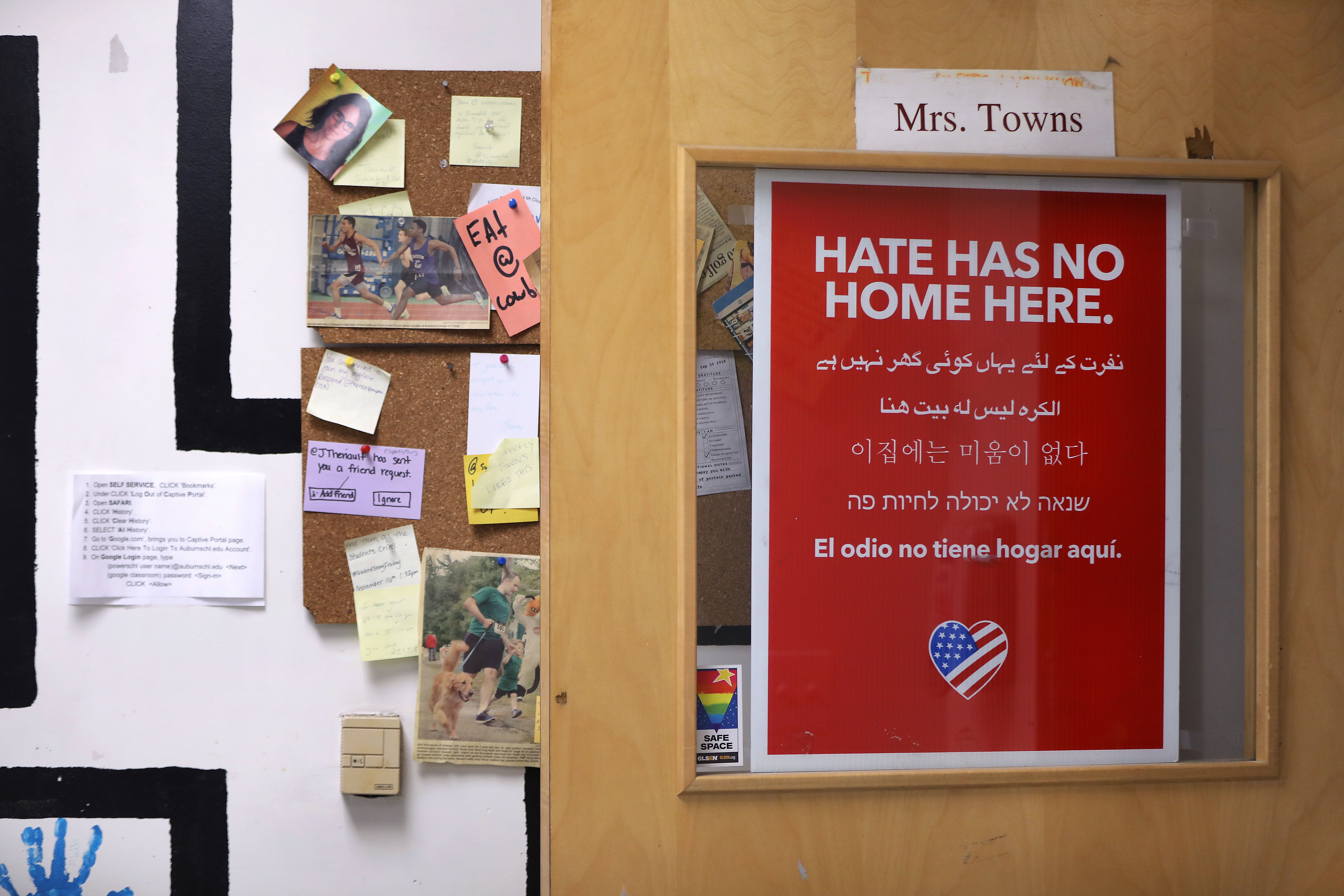 Immigrant students learn hard lessons about racism at a