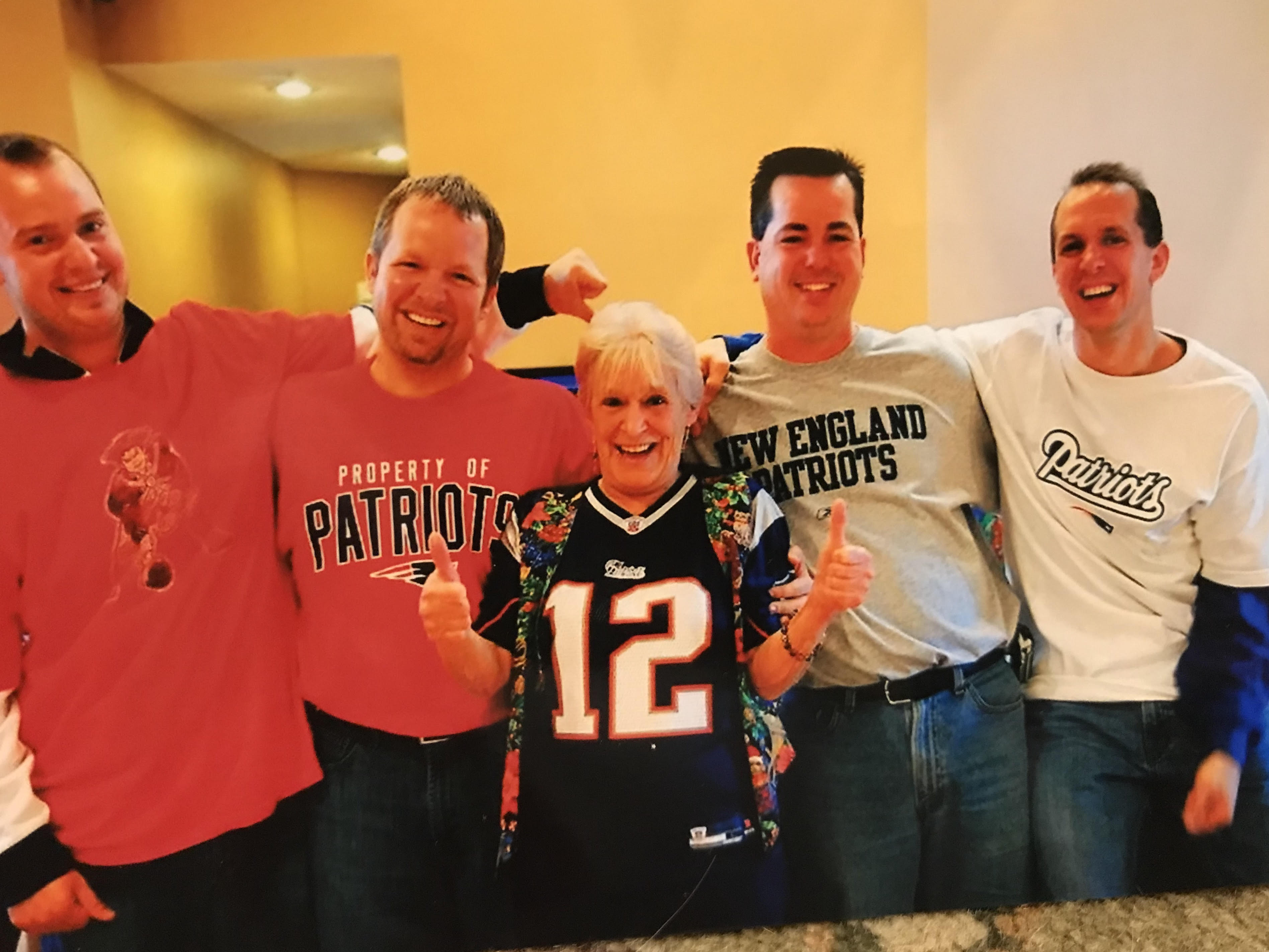 6d48a64f Family pays tribute to Budweiser-swilling mom who loved her family more  than anything — except the Red Sox and Patriots
