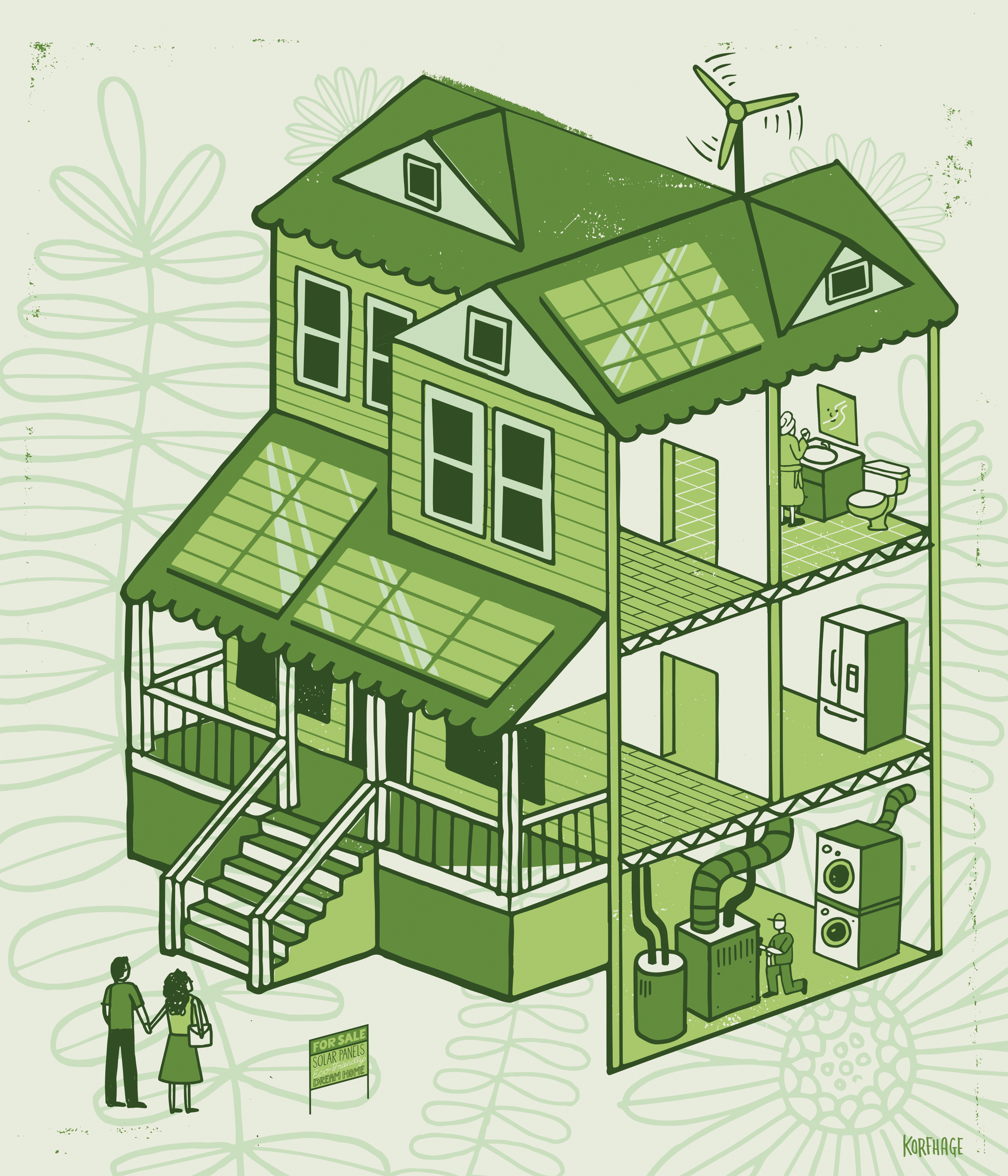 Will green improvements boost your home's value? - The
