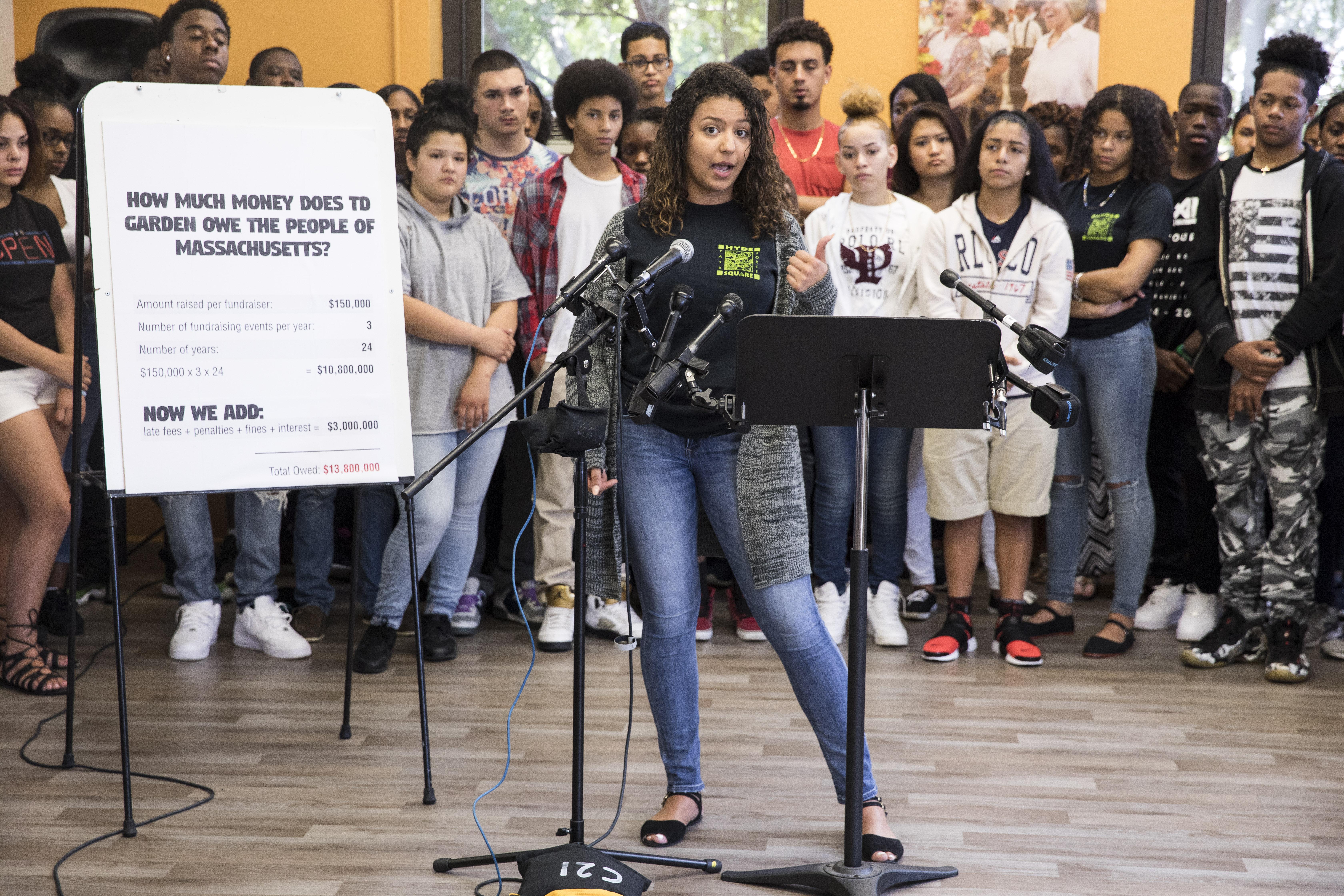 Teen sleuths say TD Garden owes $13 8 million in fund