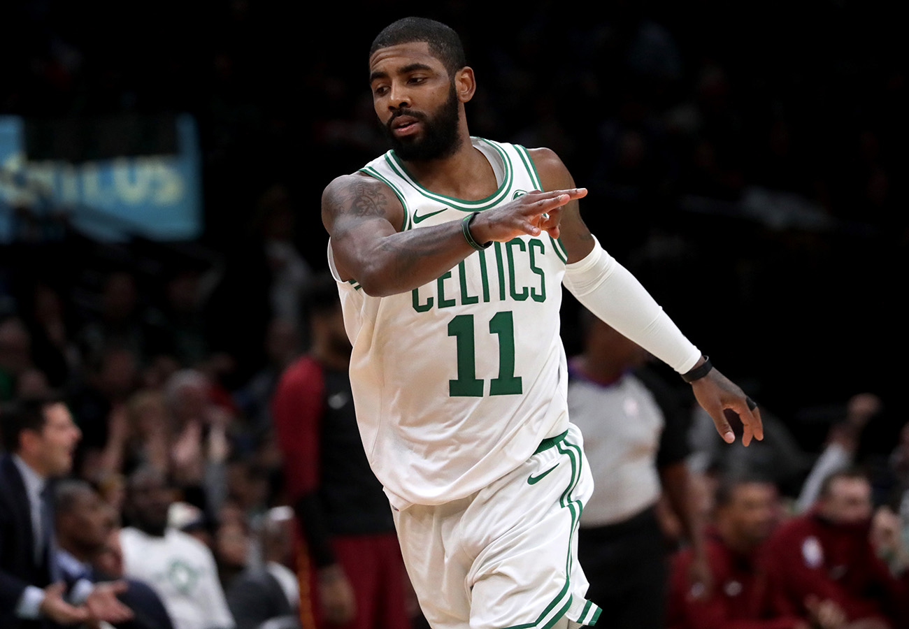 best authentic cb292 ce2f1 The latest on Kyrie Irving's future in Boston and the ...