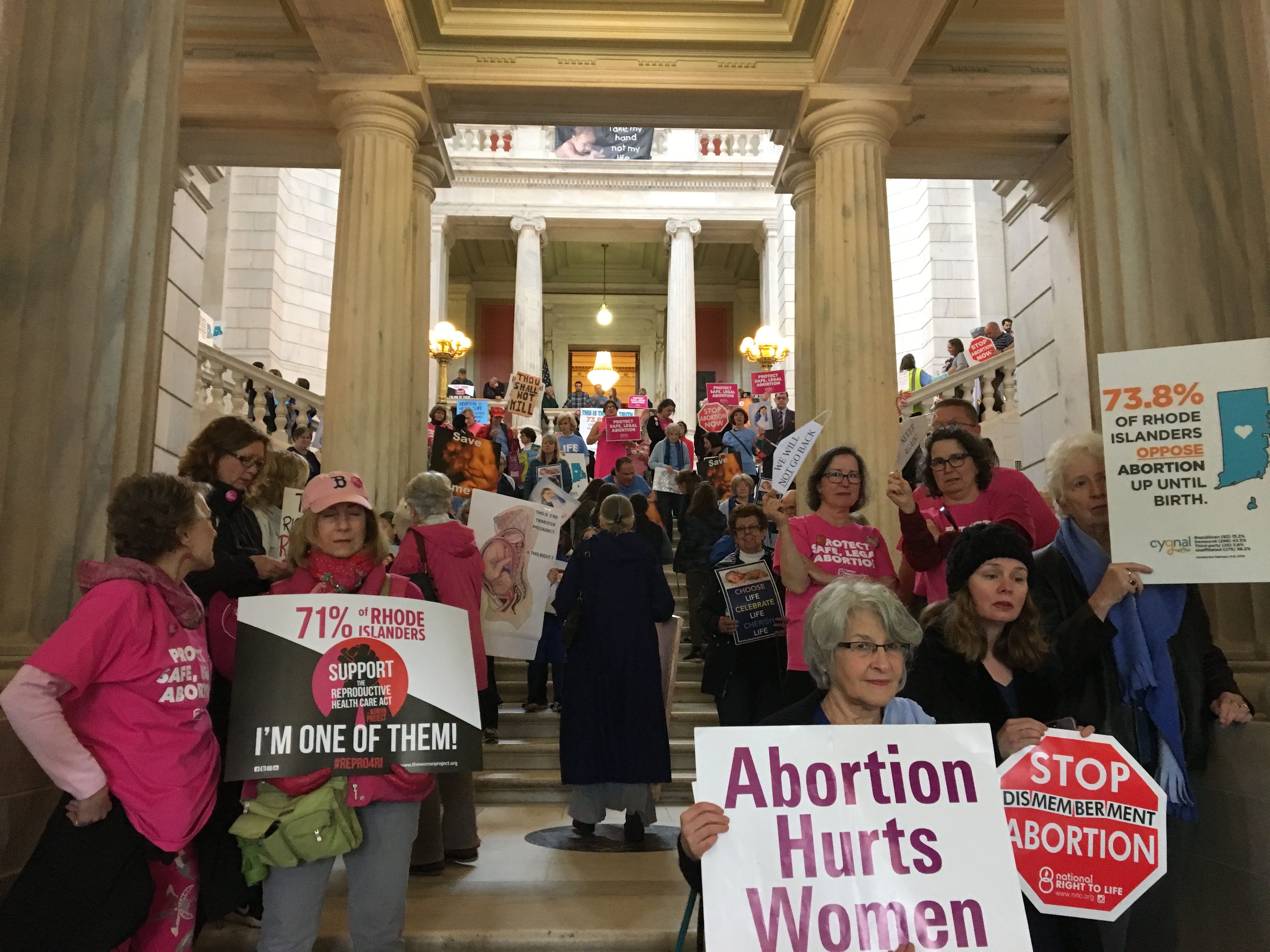 In Rhode Island, vote on abortion-rights bill reveals a