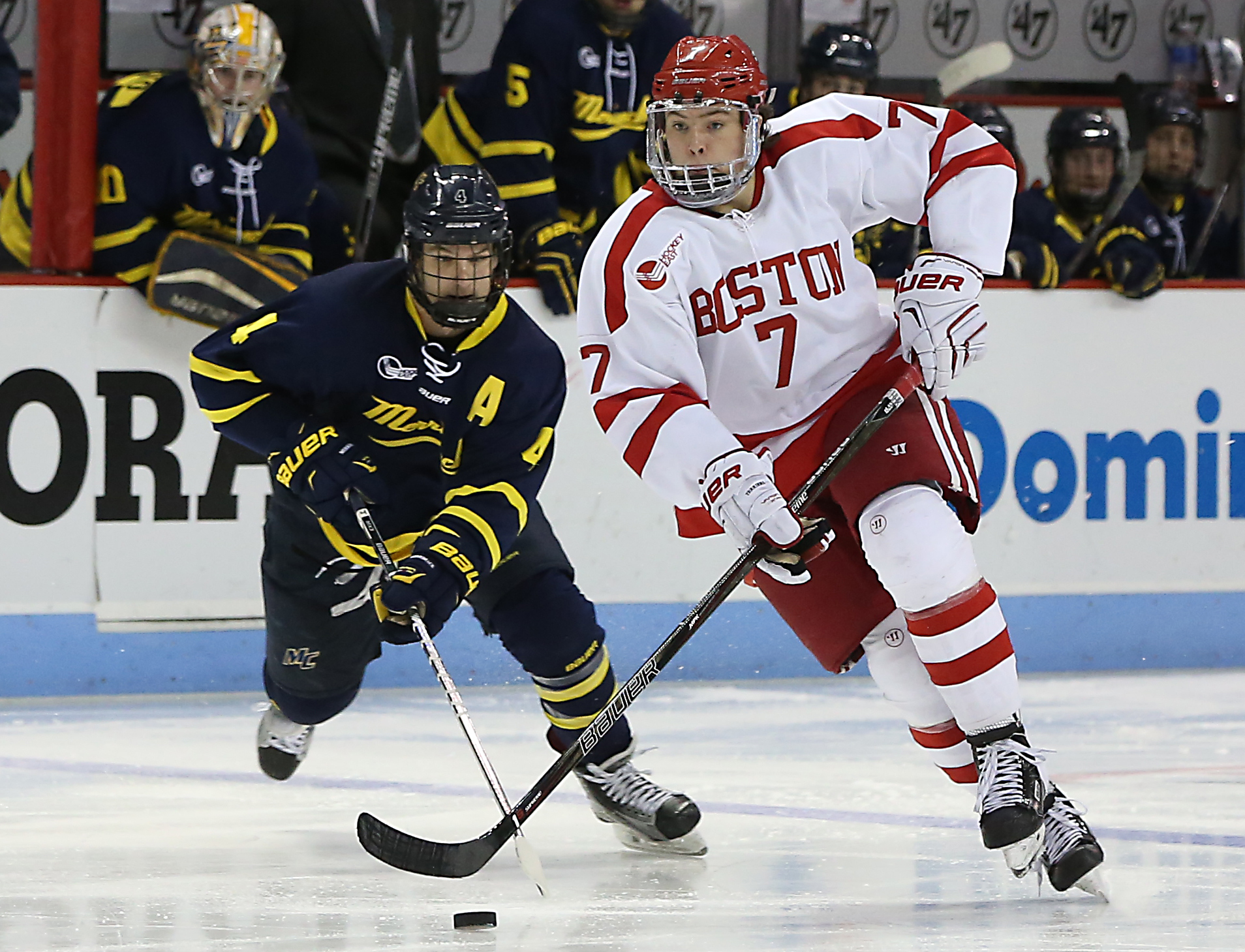 online store 471cb 1a51c Charlie McAvoy an impact player on BU blue line - The Boston ...