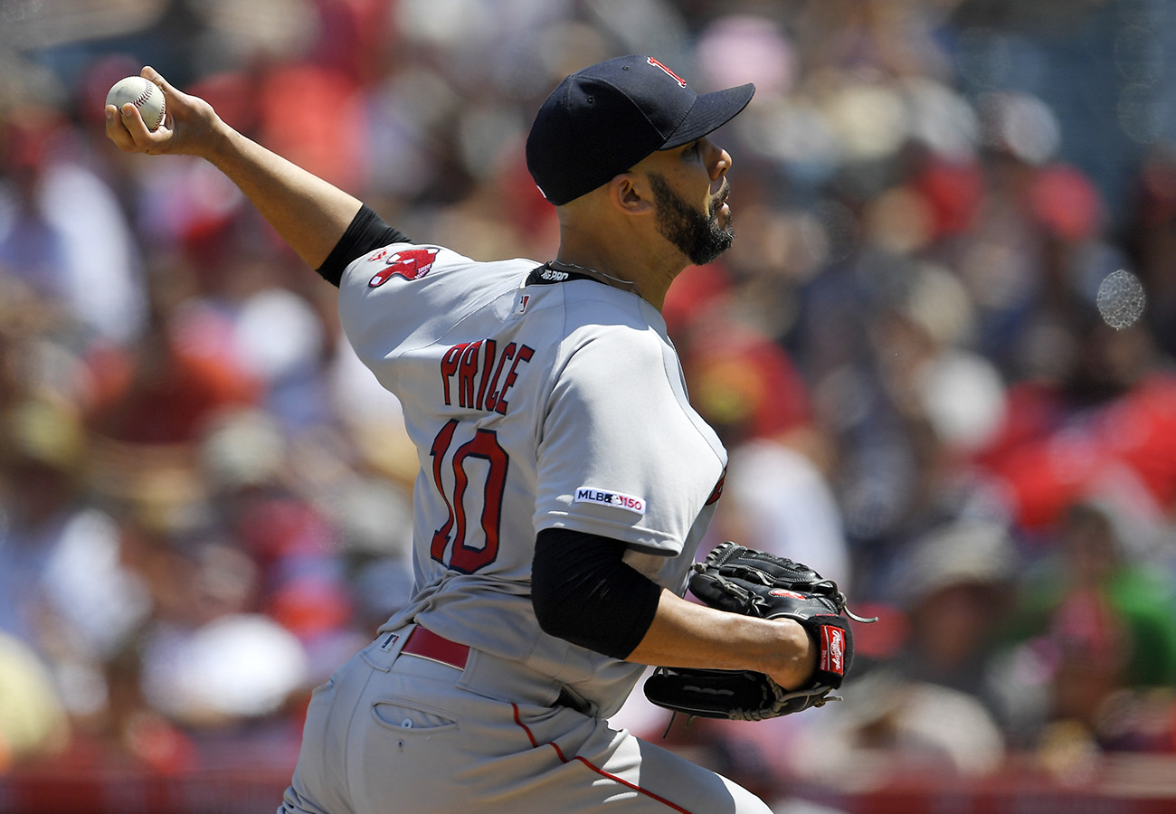 David Price is scratched from Friday's start against the Yankees