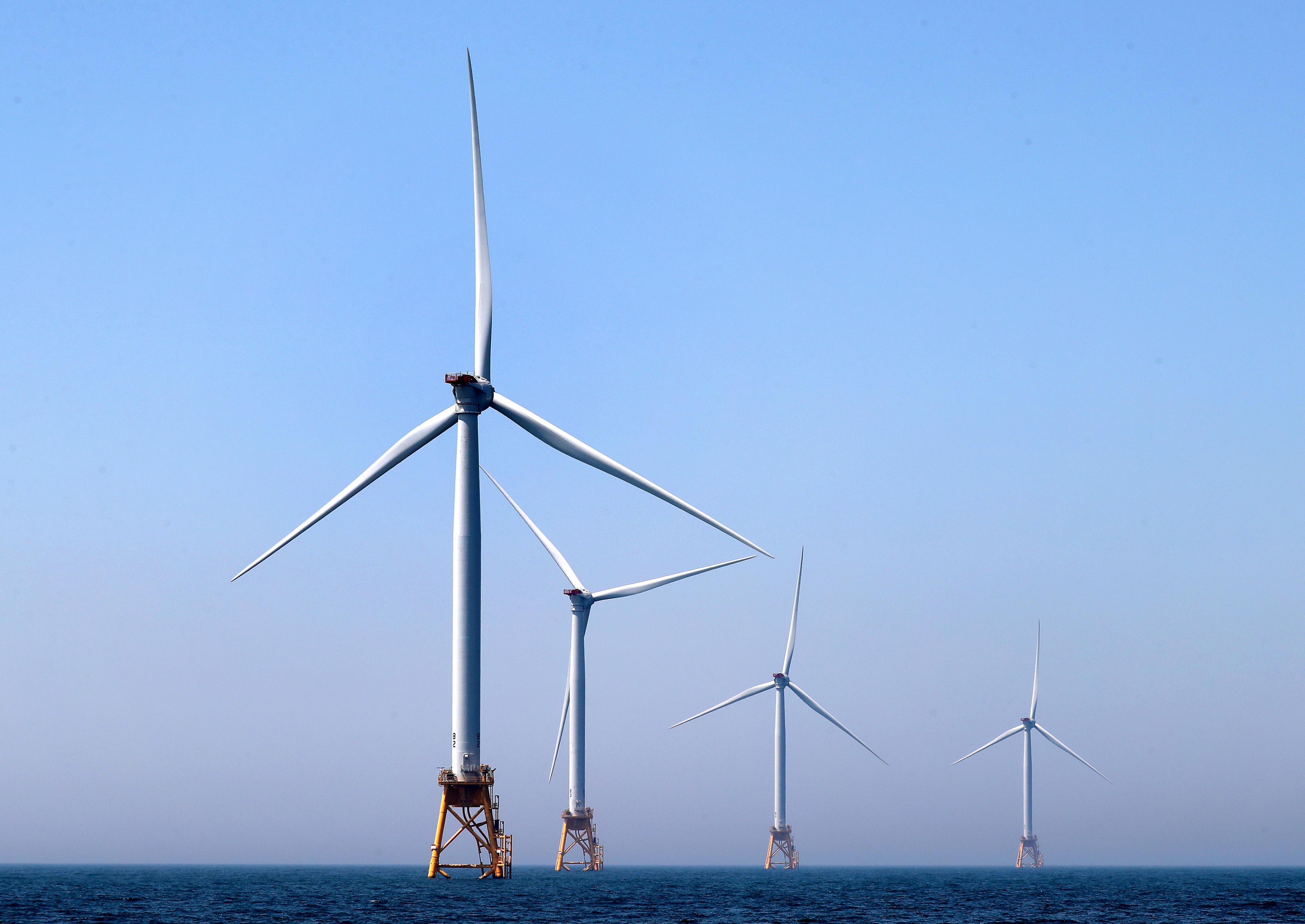 Two big wind farms to rise off coast of Martha's Vineyard