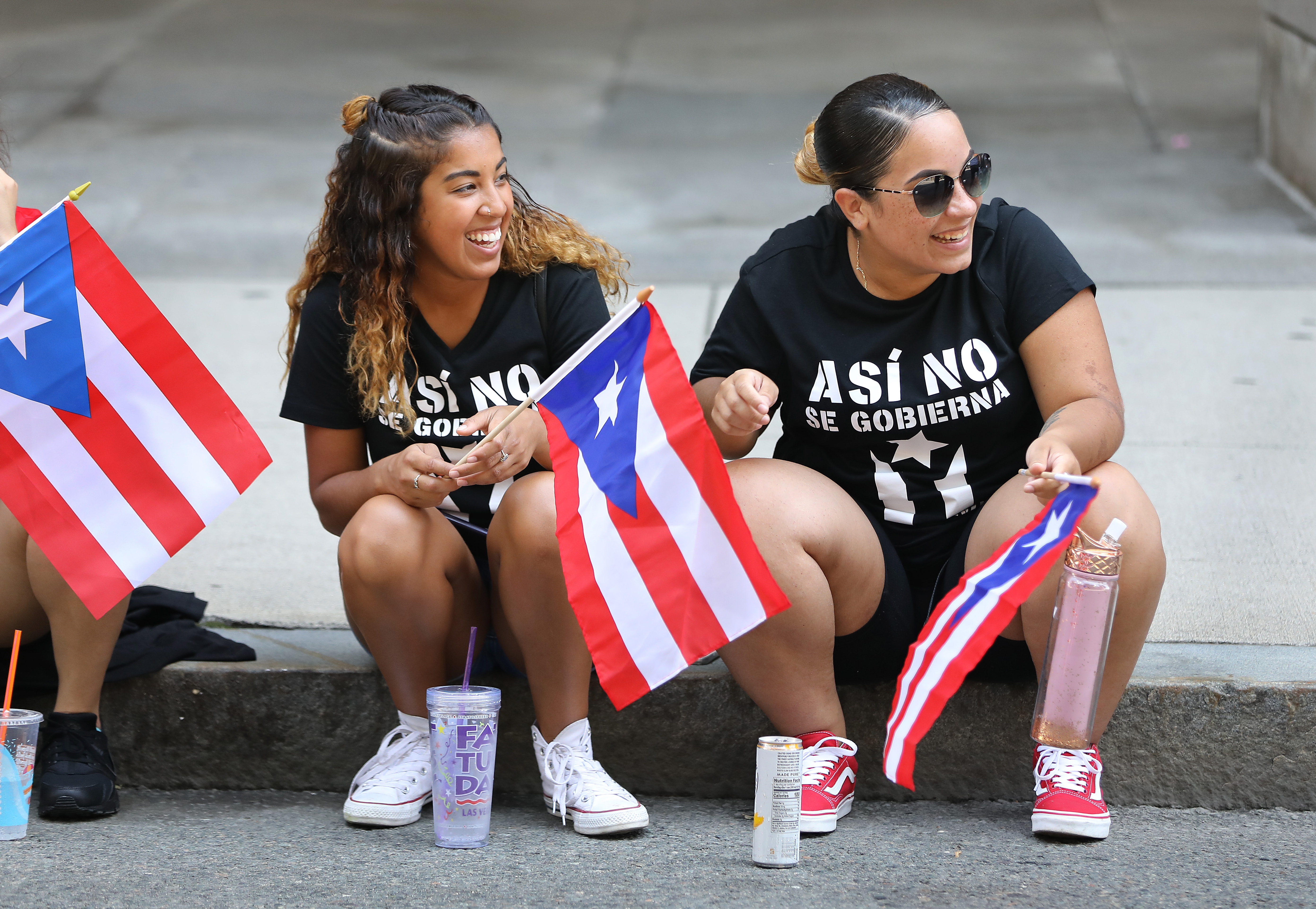 Shades Of Resistance Unity At Puerto Rican Parade The Boston Globe