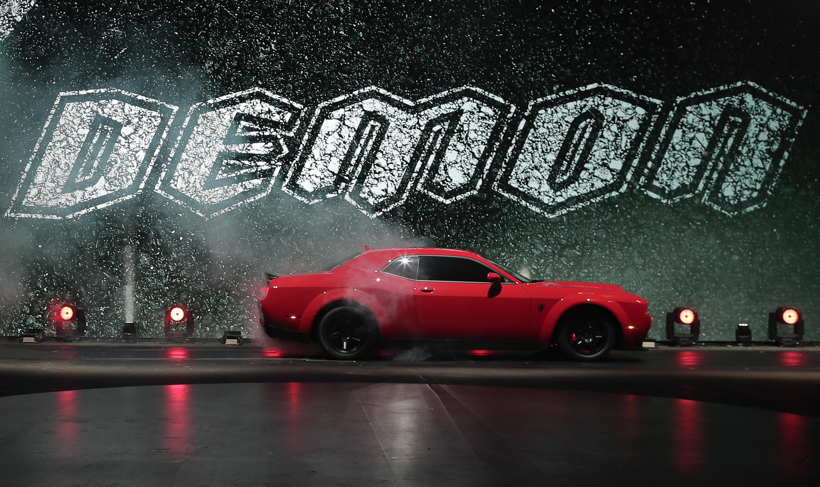 Meet The 840 Horsepower Dodge Challenger Srt Demon The Boston Globe