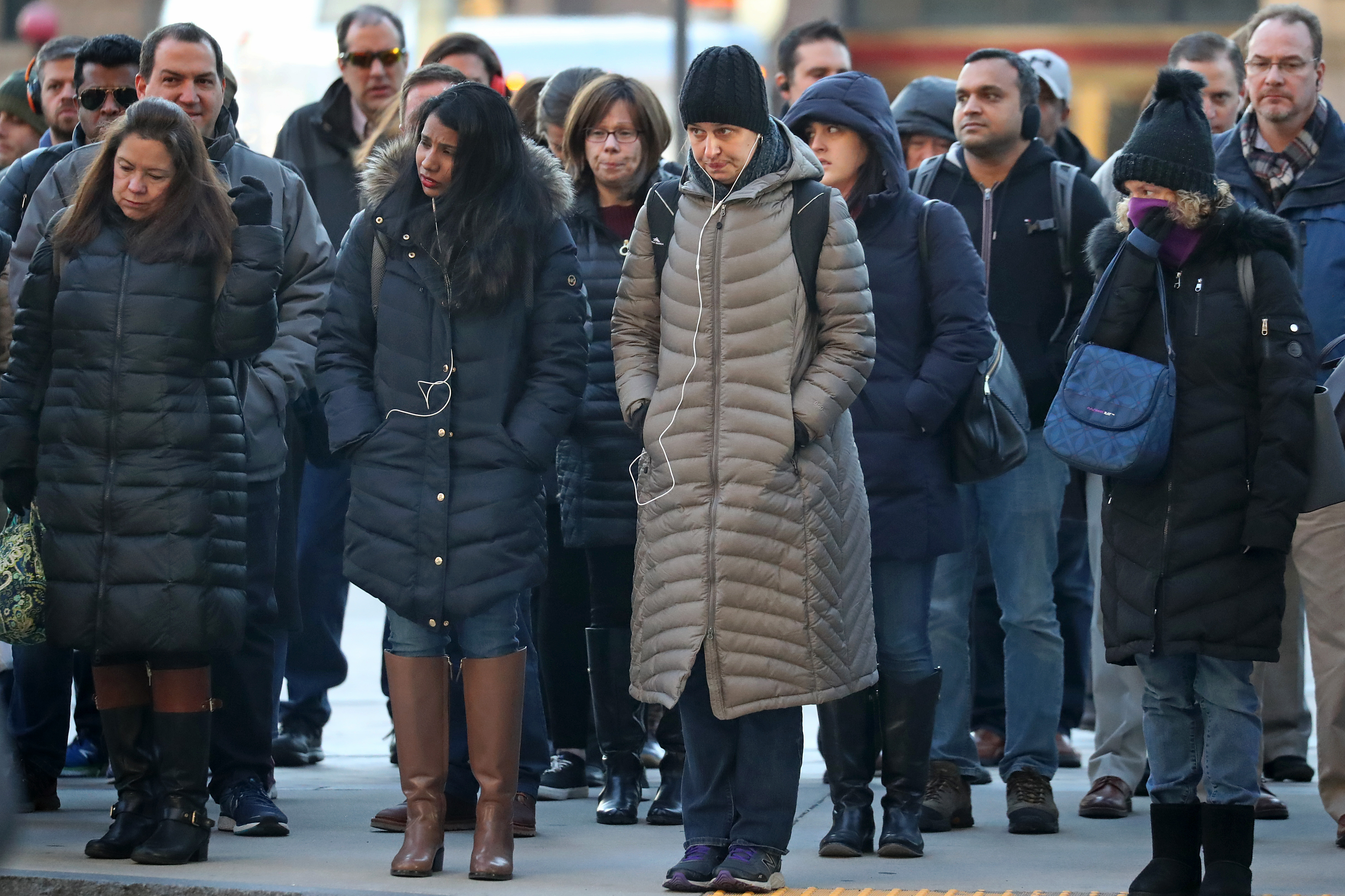 a5eb9771dfc8 Some women think they can escape the long, dark, puffy coat. But many have  succumbed - The Boston Globe