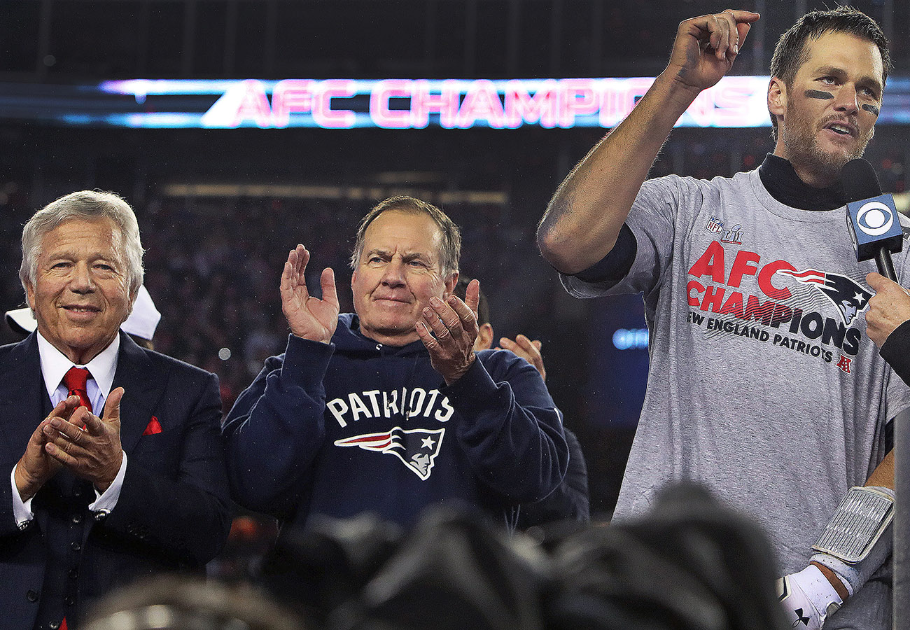 Patriots already among betting favorites for Super Bowl LV