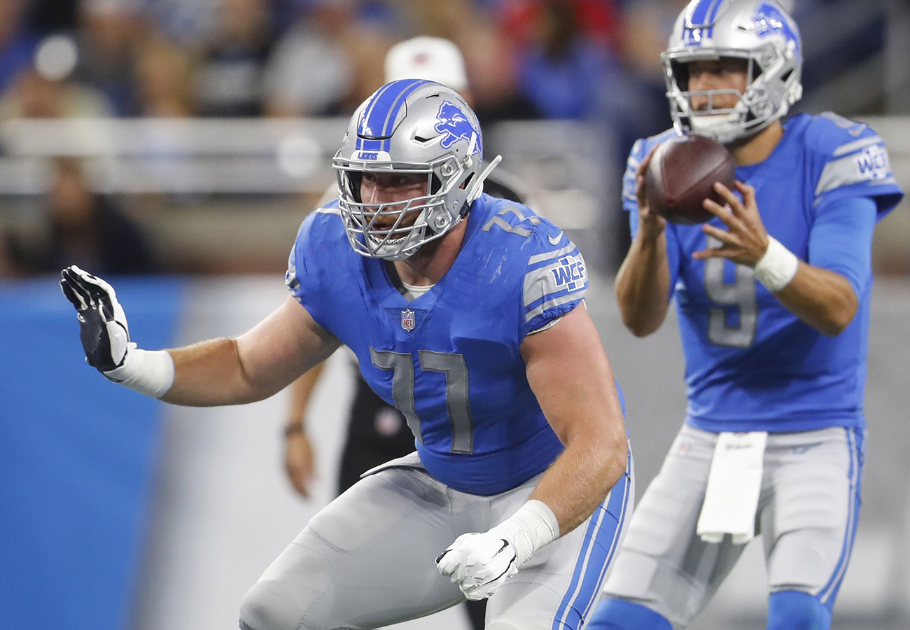 71951a24 From the first drive, the Lions executed their game plan to near ...