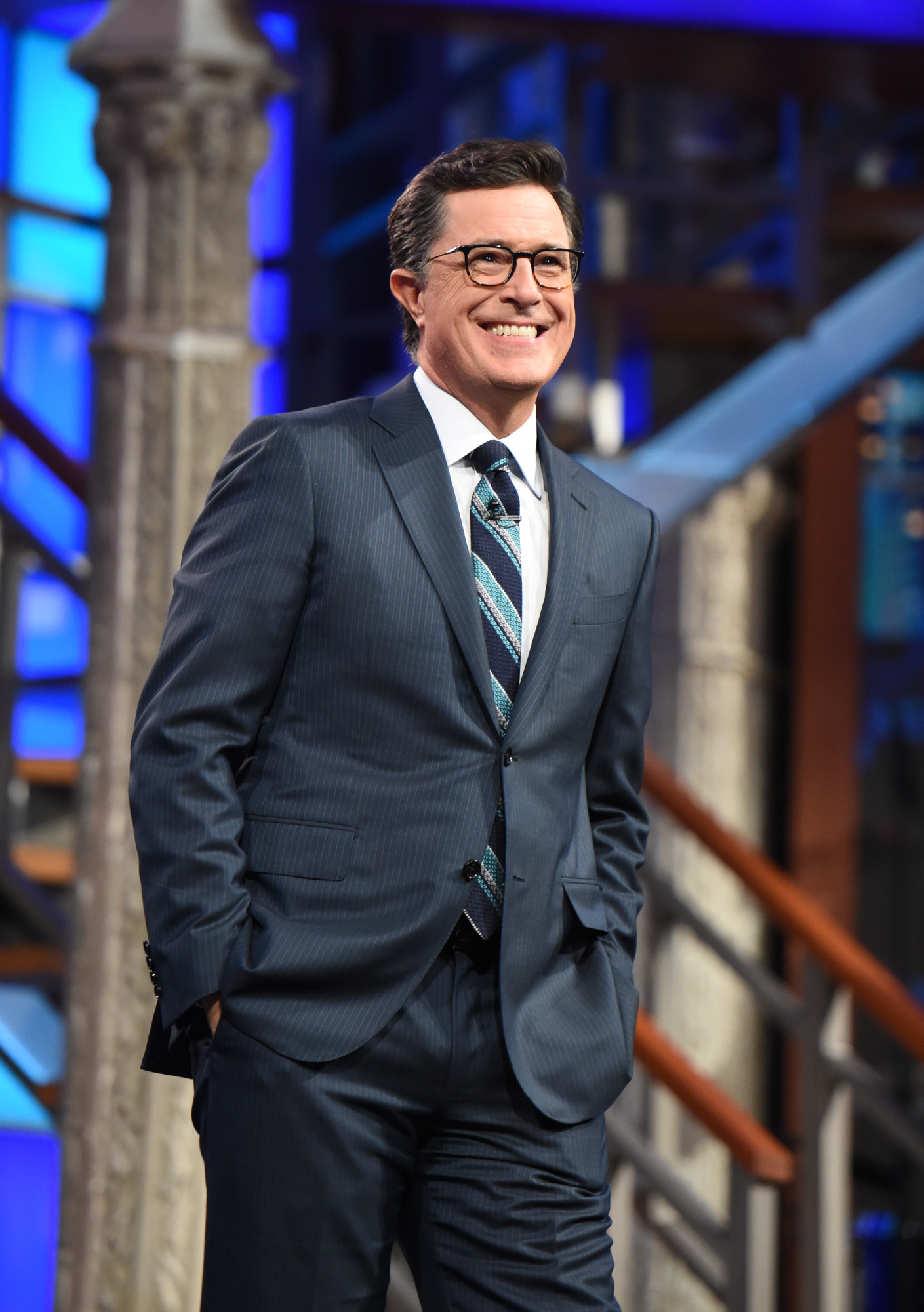 Stephen Colbert to host CBS's 'The Late Show' until 2023