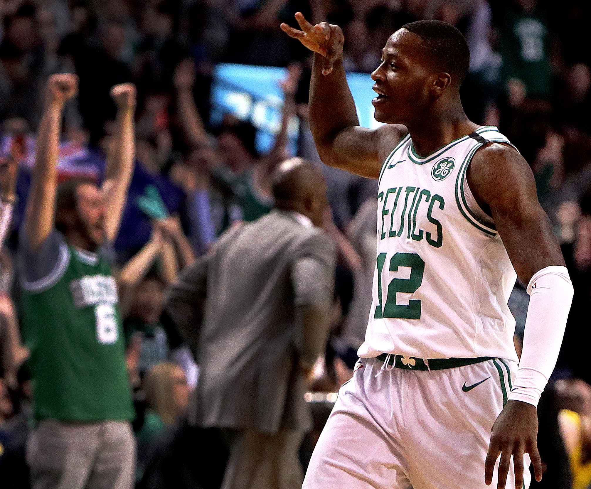 reputable site 45c92 a70af Here's how 'Scary Terry' Rozier came to be a thing - The ...