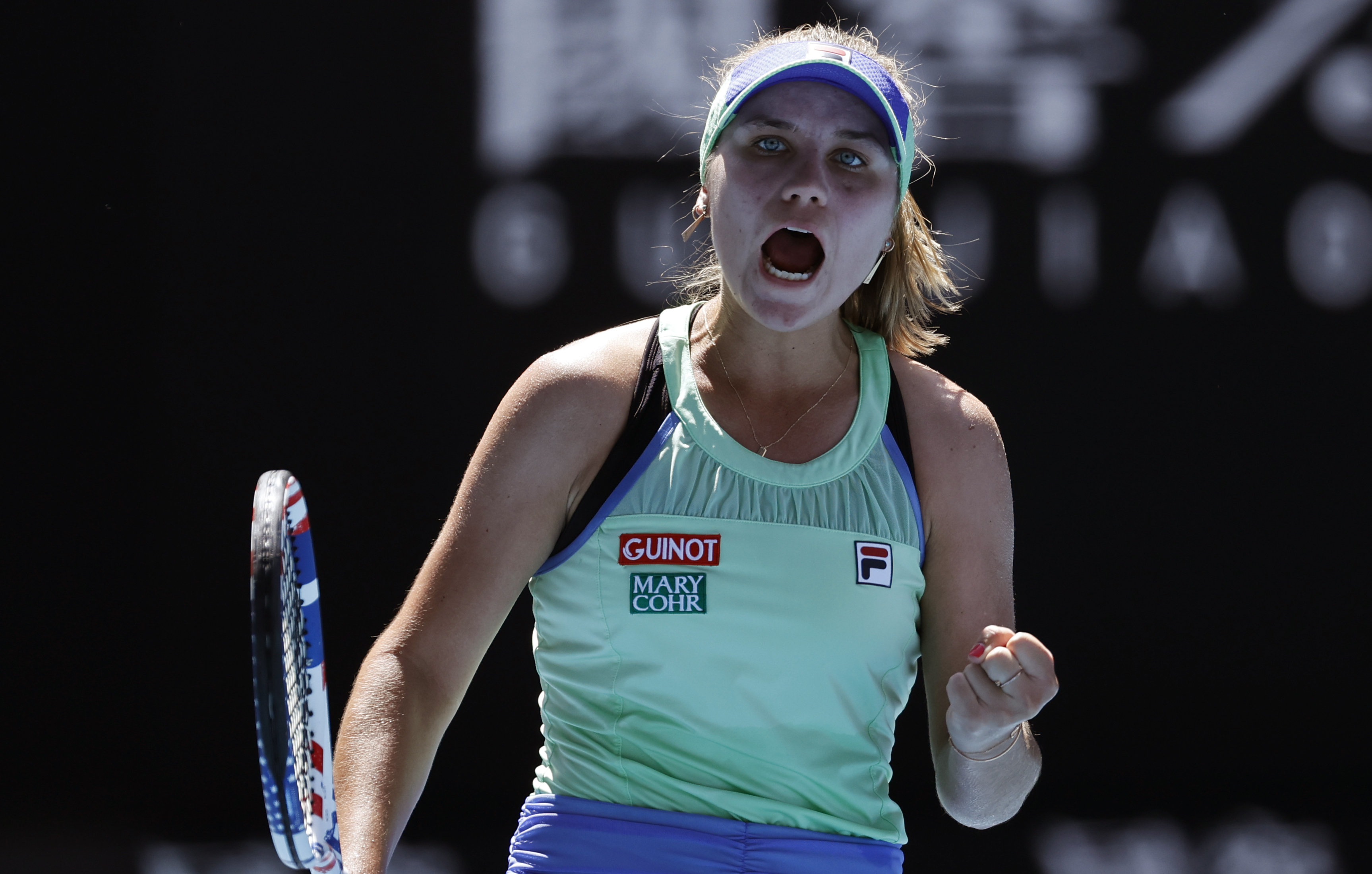Sofia Kenin Upsets Top Seeded Ash Barty To Reach Women S Final The Boston Globe