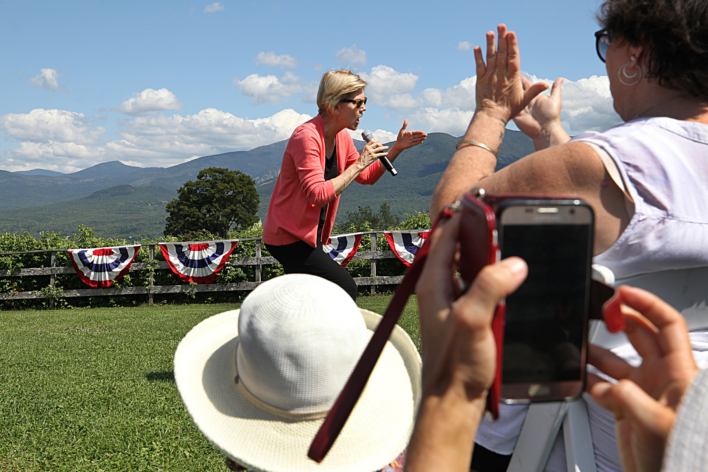 Elizabeth Warren is a hit in N.H.