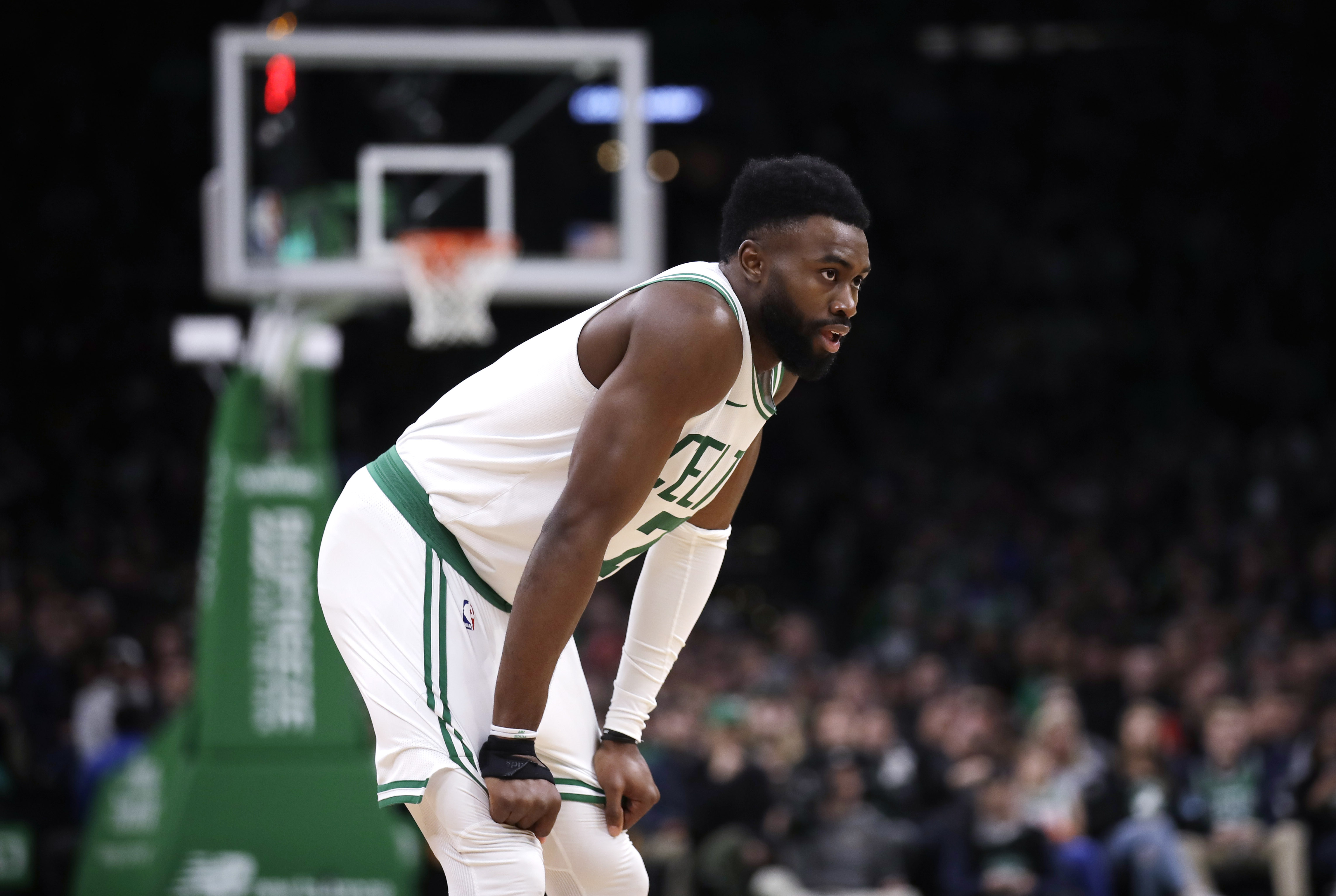 new product 91dc7 1f6b0 Was Jaylen Brown calling out Kyrie Irving? - The Boston Globe