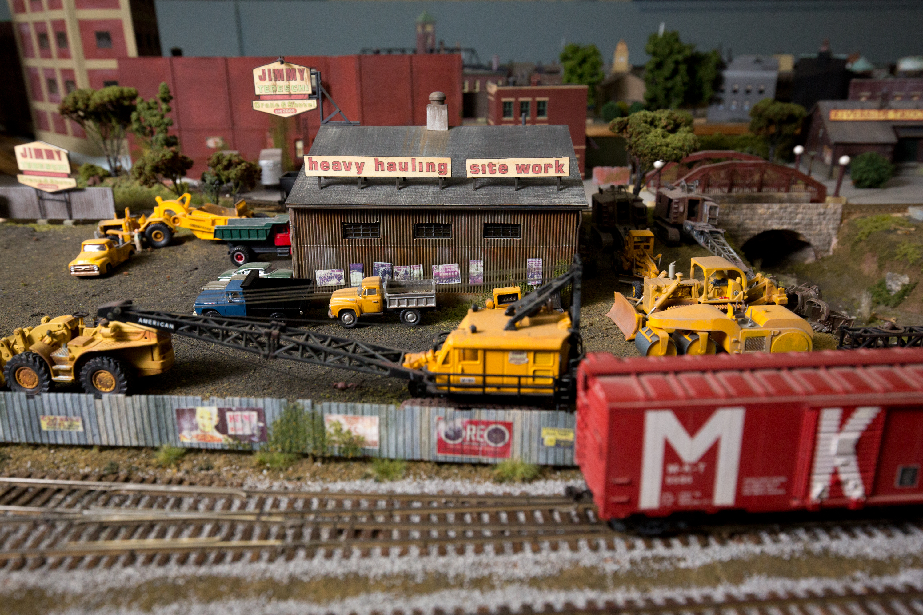 Whats With Adults Still Playing With Toy Trains The Boston Globe