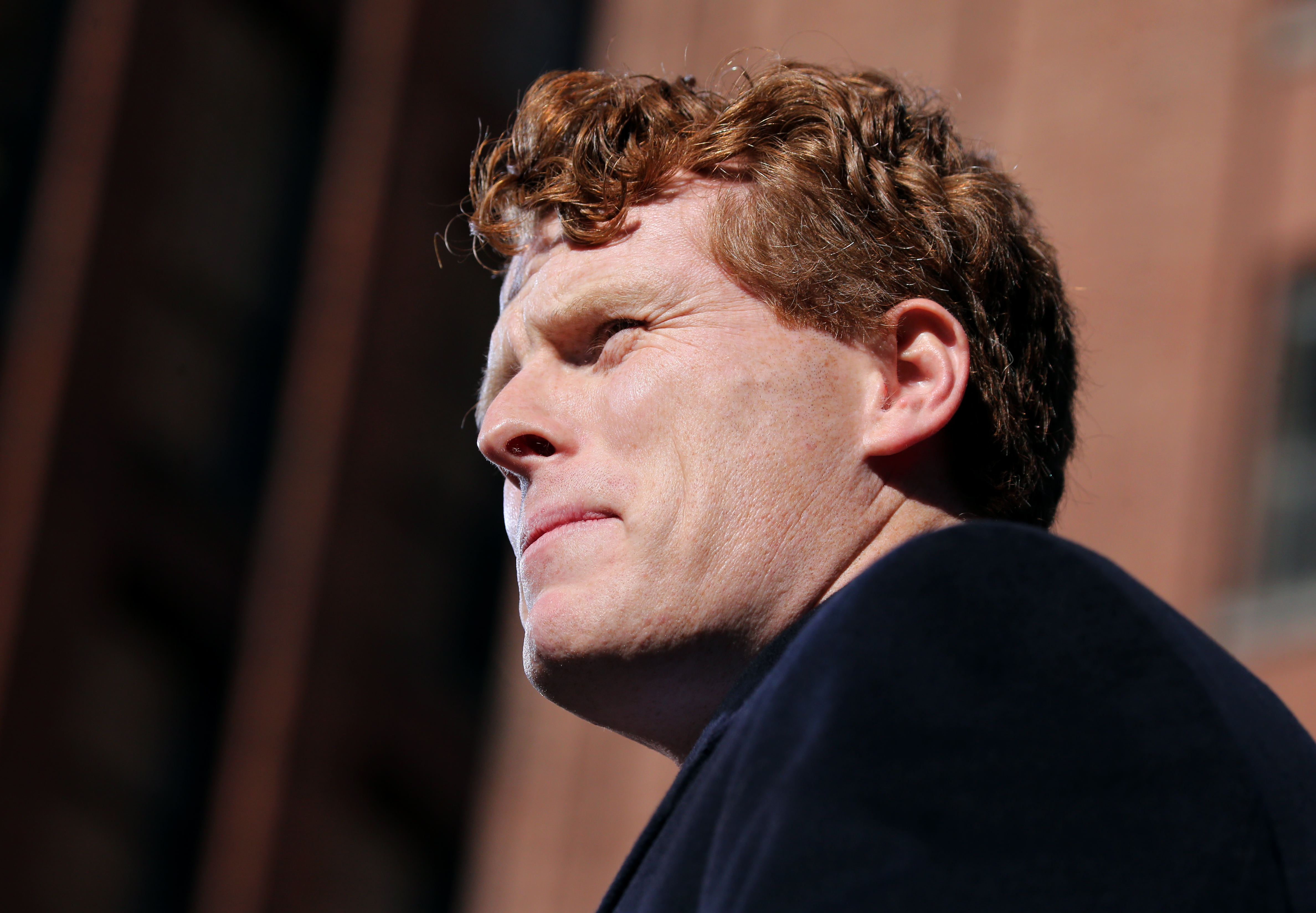 With impeachment in the air, Joe Kennedy inhales
