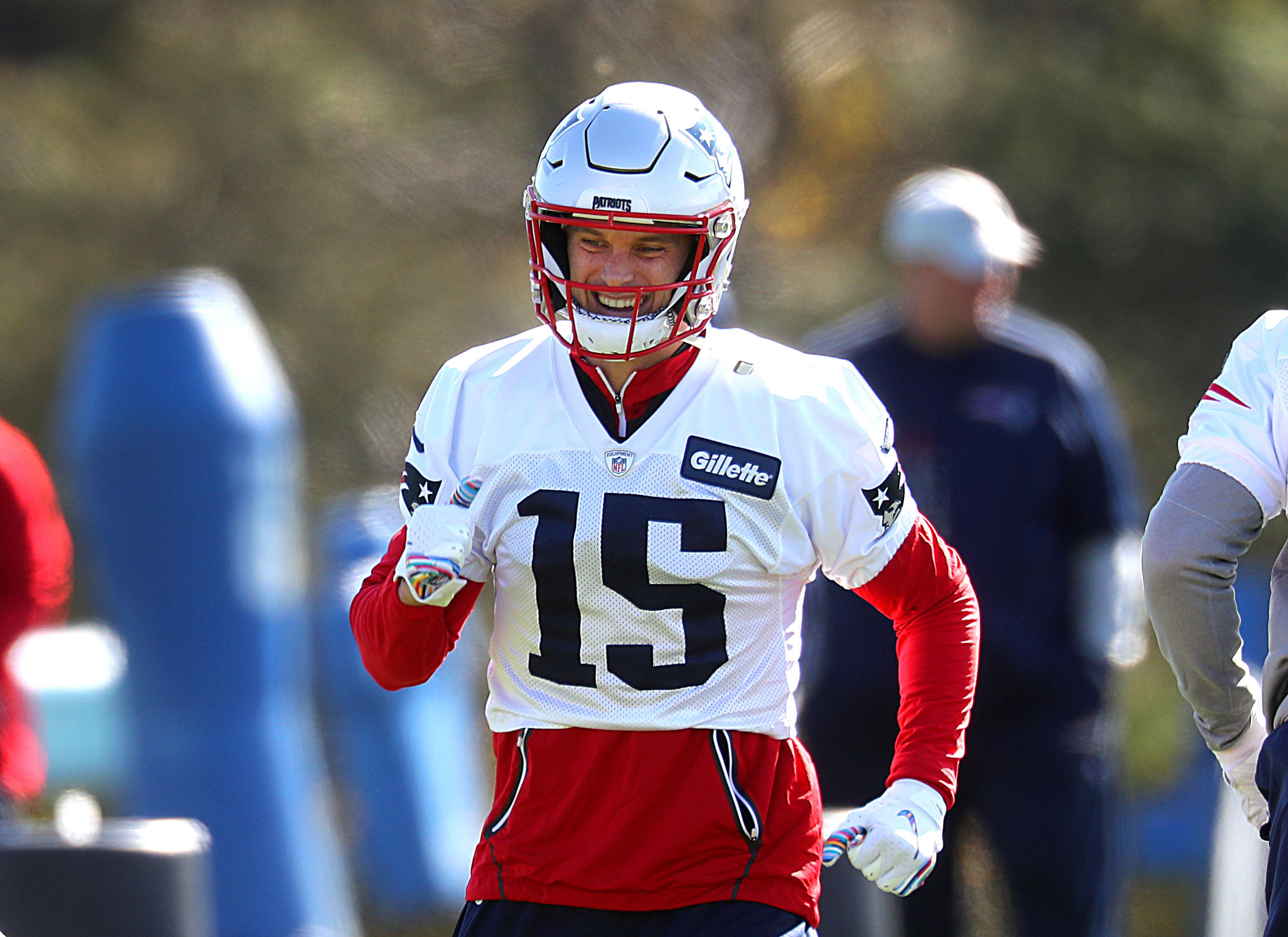 Why aren't the Patriots throwing to Chris Hogan more? - The Boston ...