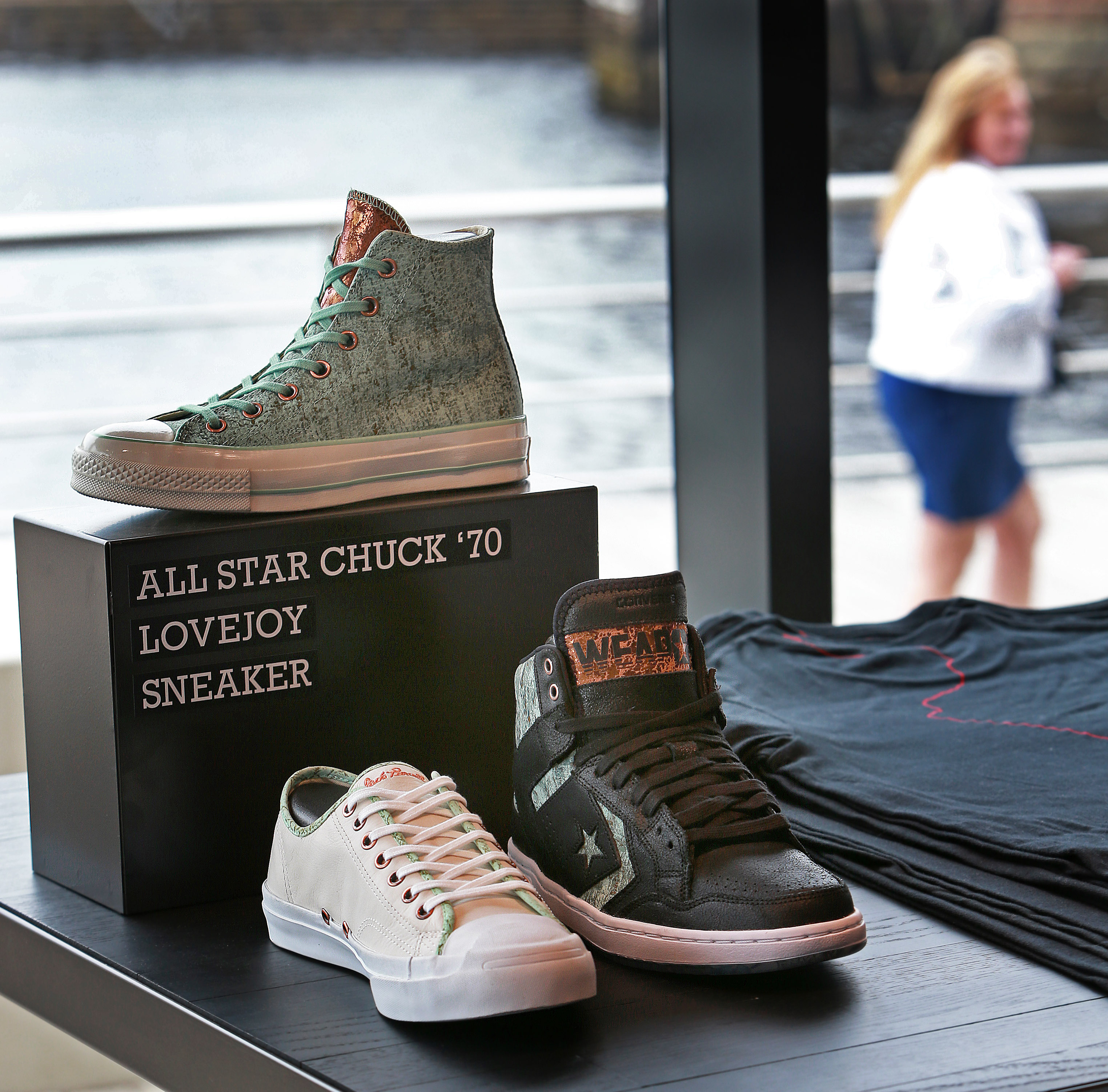 de5c67af5fd759 Converse and its iconic Chuck Taylors find a home near North Station - The  Boston Globe