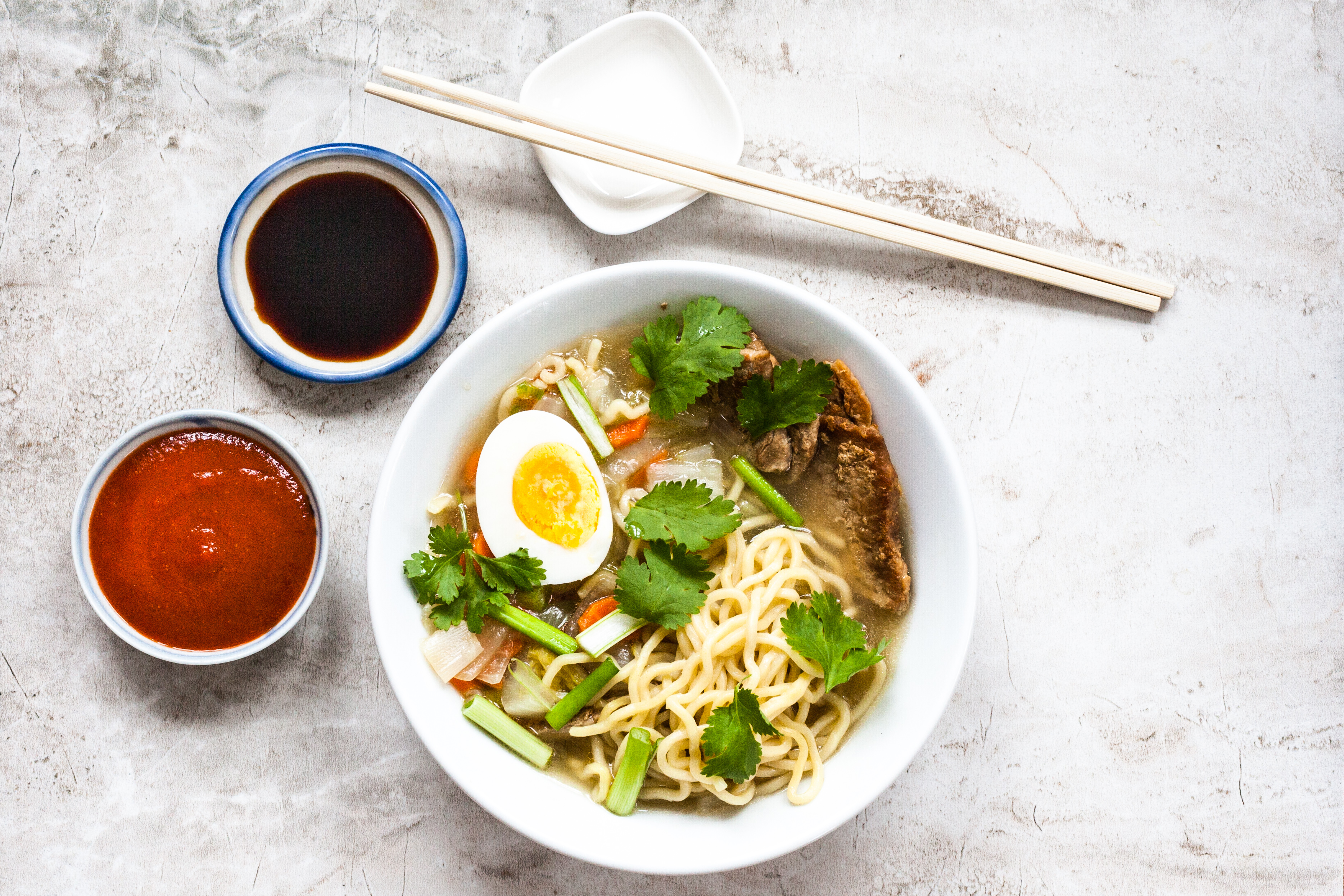 Recipe: Homemade rule-benders' ramen builds bowls with an