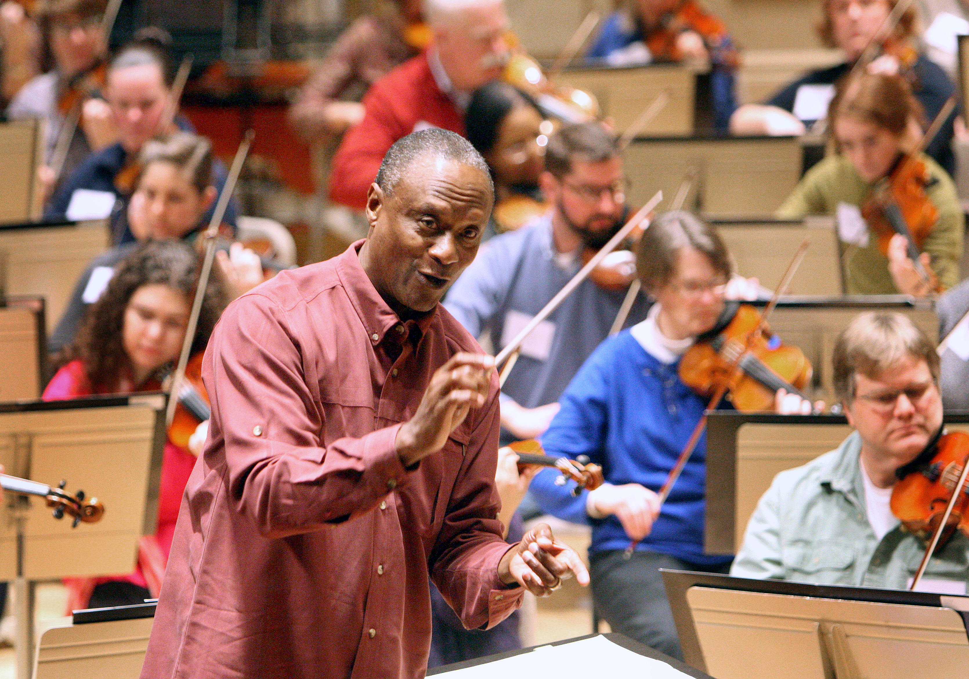 Lifting the baton to bring composers of color into the canon