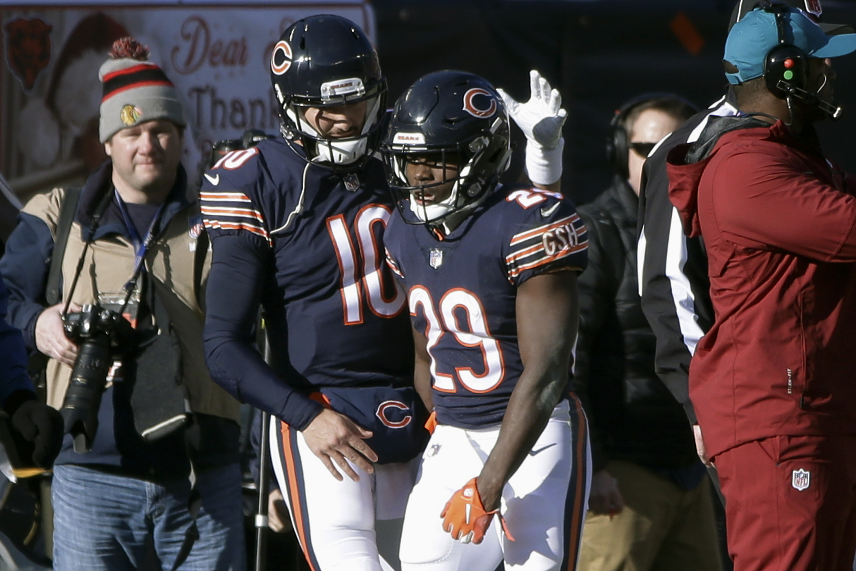 c9d72255 Bears beat Packers to clinch NFC North title - The Boston Globe