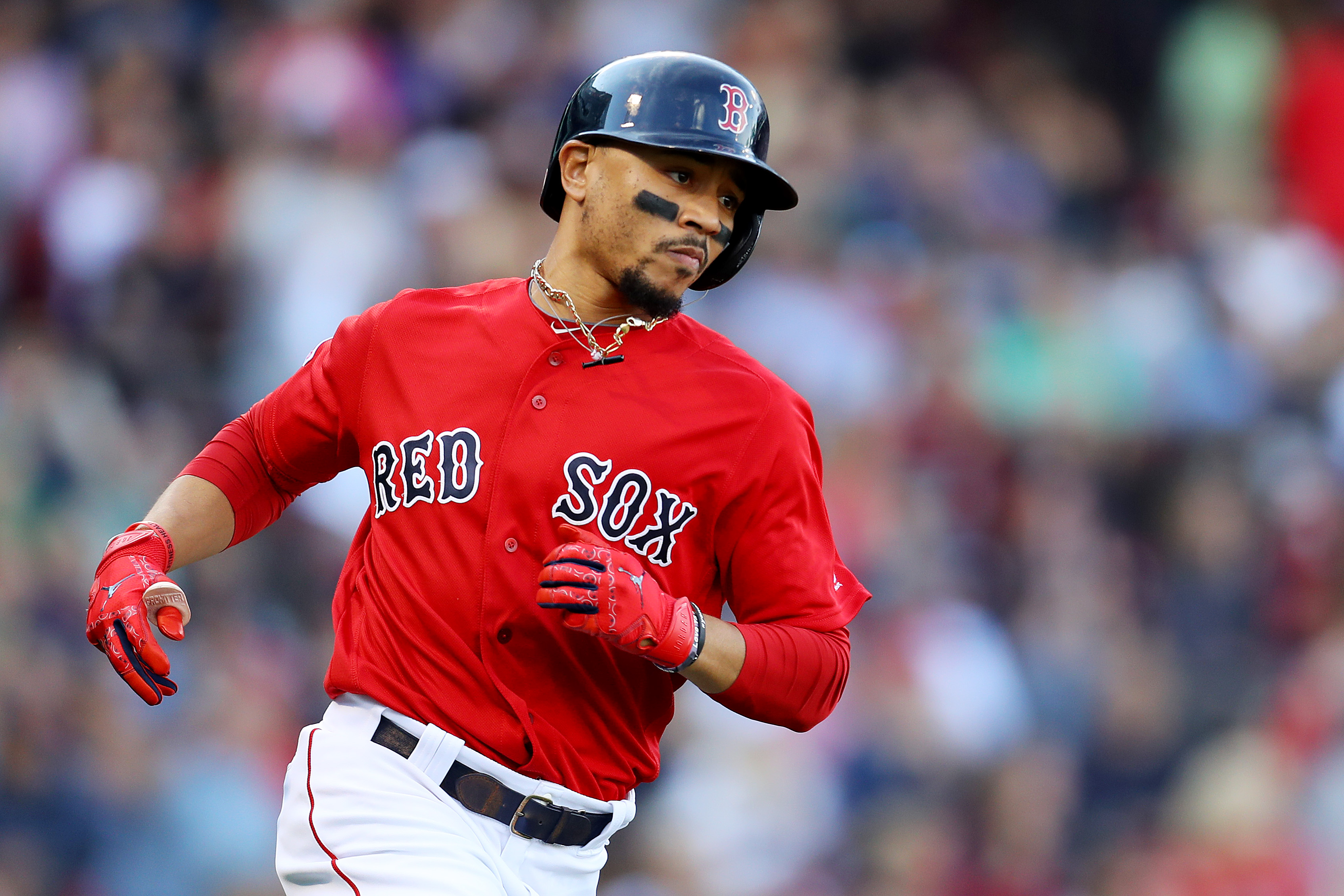 One last time with gusto, Mookie Betts provides drama for Red Sox in season-ending win