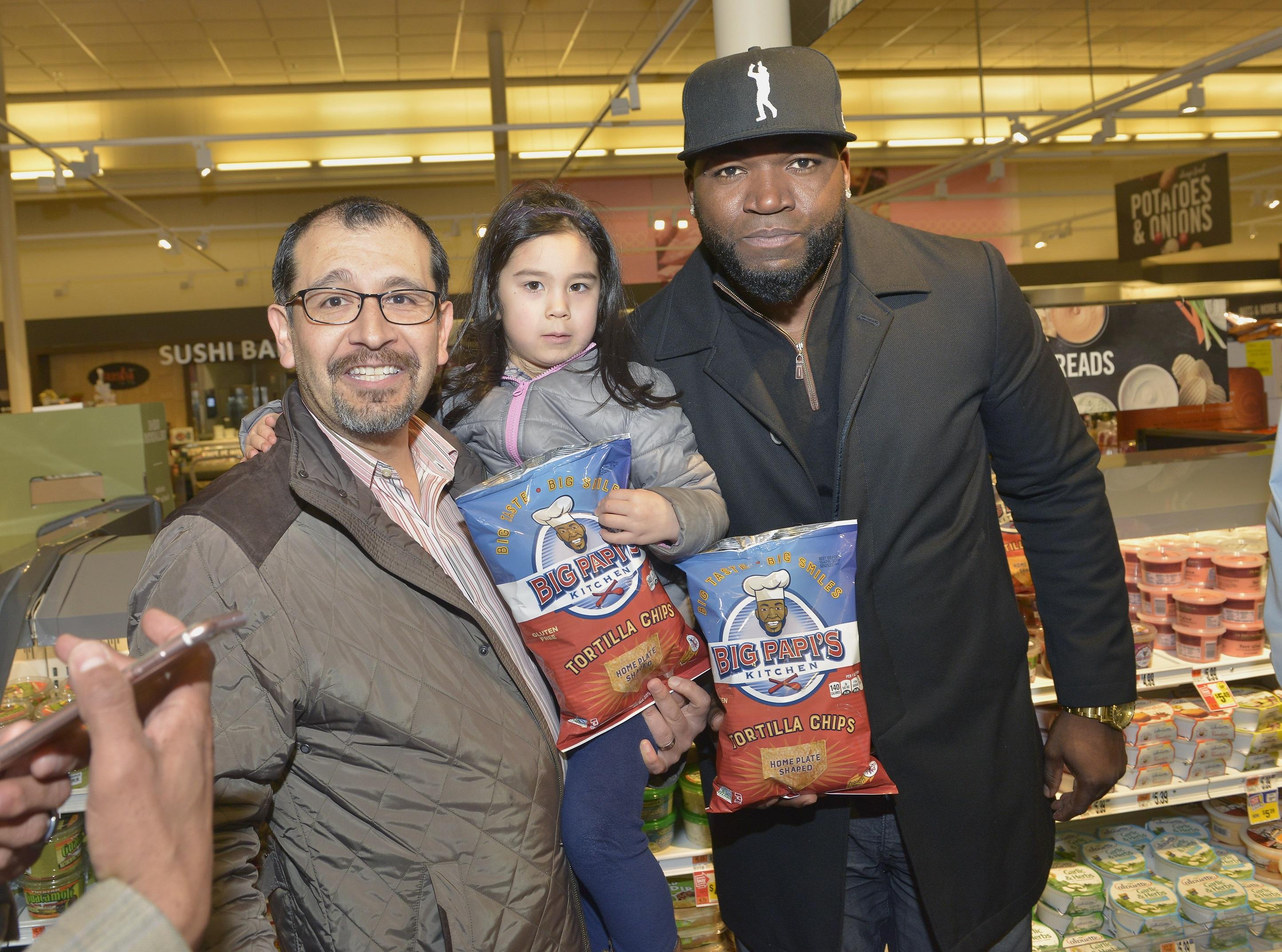 David Ortiz Surprises At The Grocery Store The Boston Globe