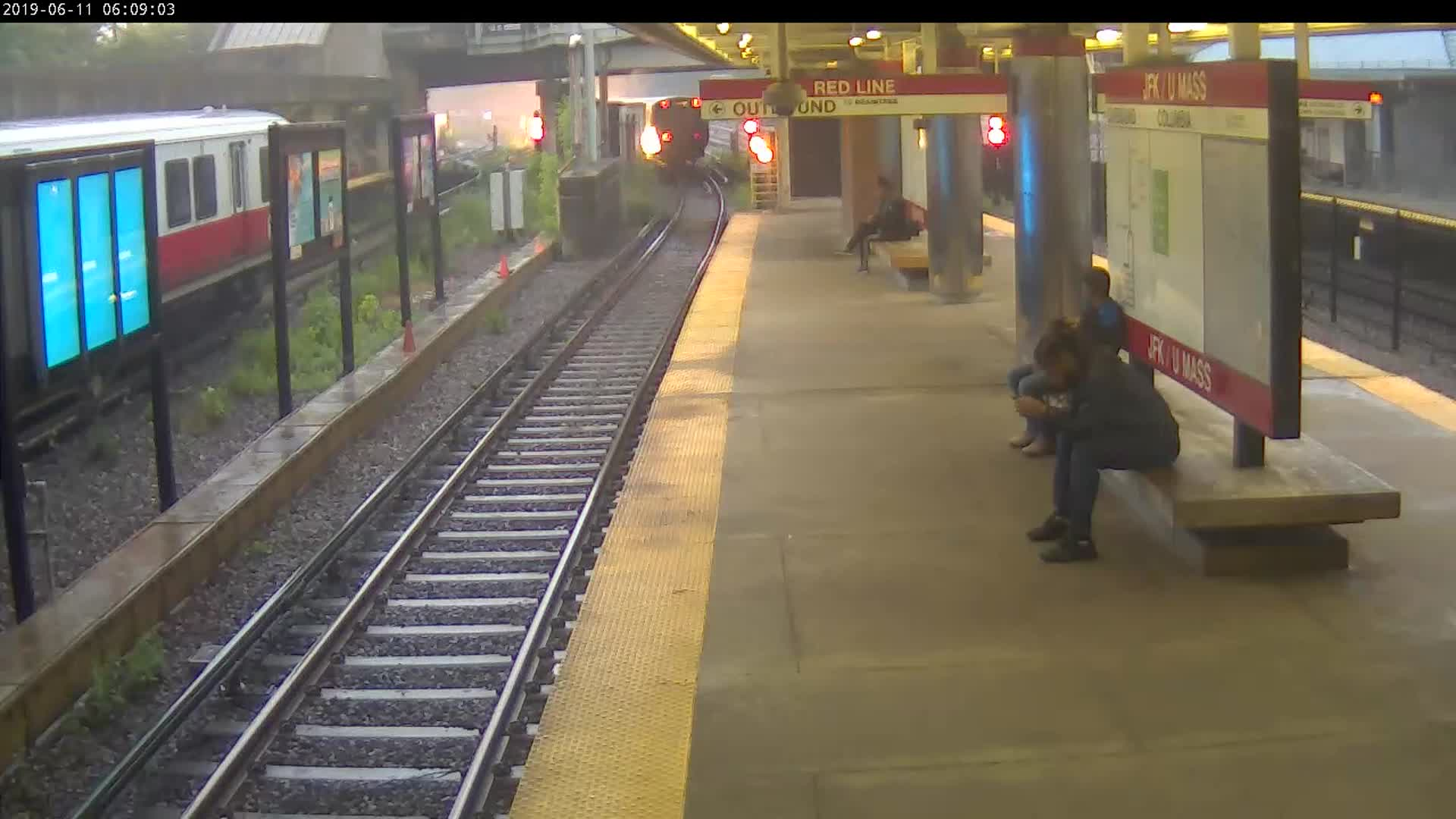 MBTA releases dramatic video footage of June Red Line