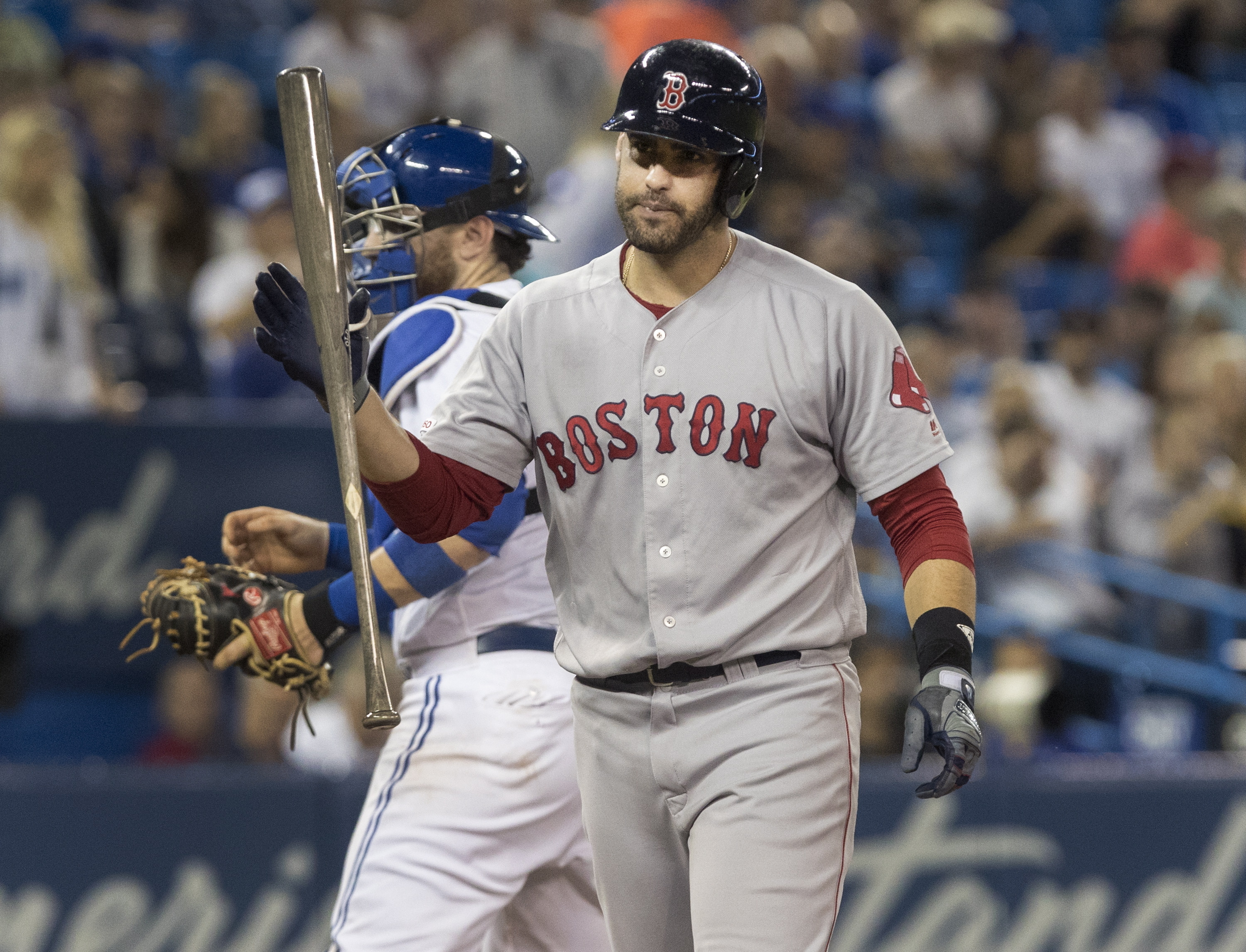 Fading Red Sox get shelled by Blue Jays