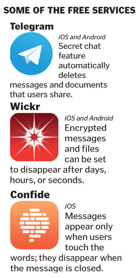 When our messages vanish, privacy gets a better chance - The
