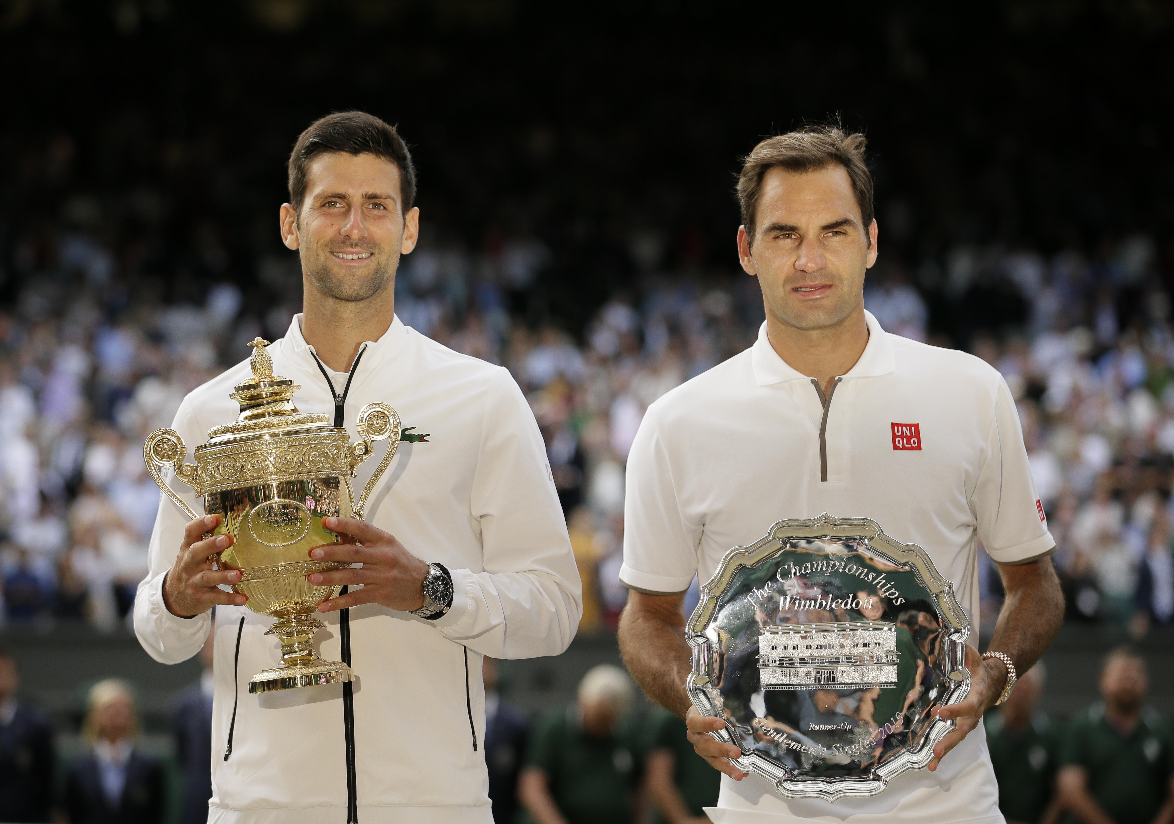 Novak Djokovic Roger Federer Wimbledon Finale Was Simply Tennis At Its Very Best The Boston Globe