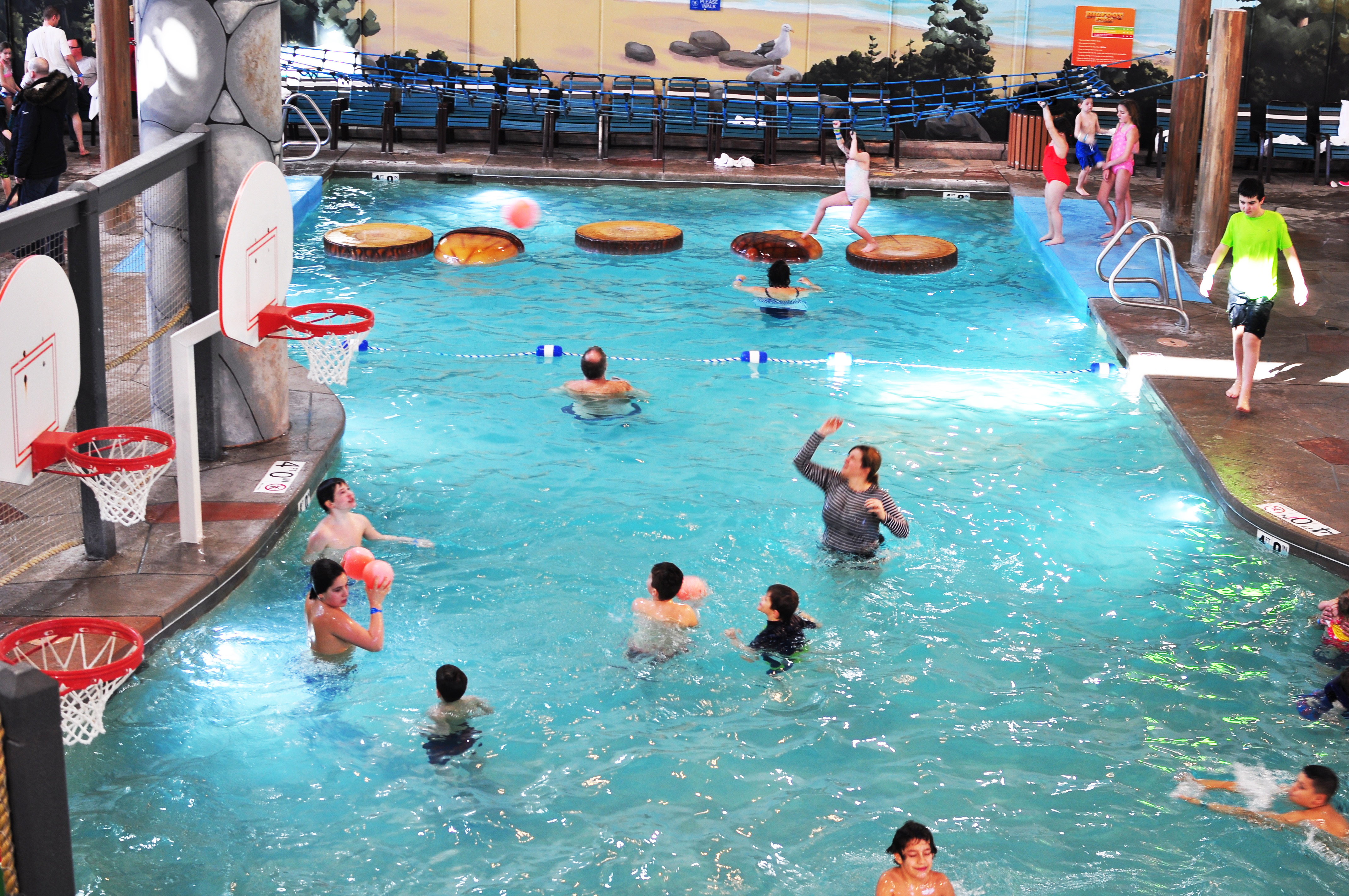 I survived after making tracks to Great Wolf Lodge - The
