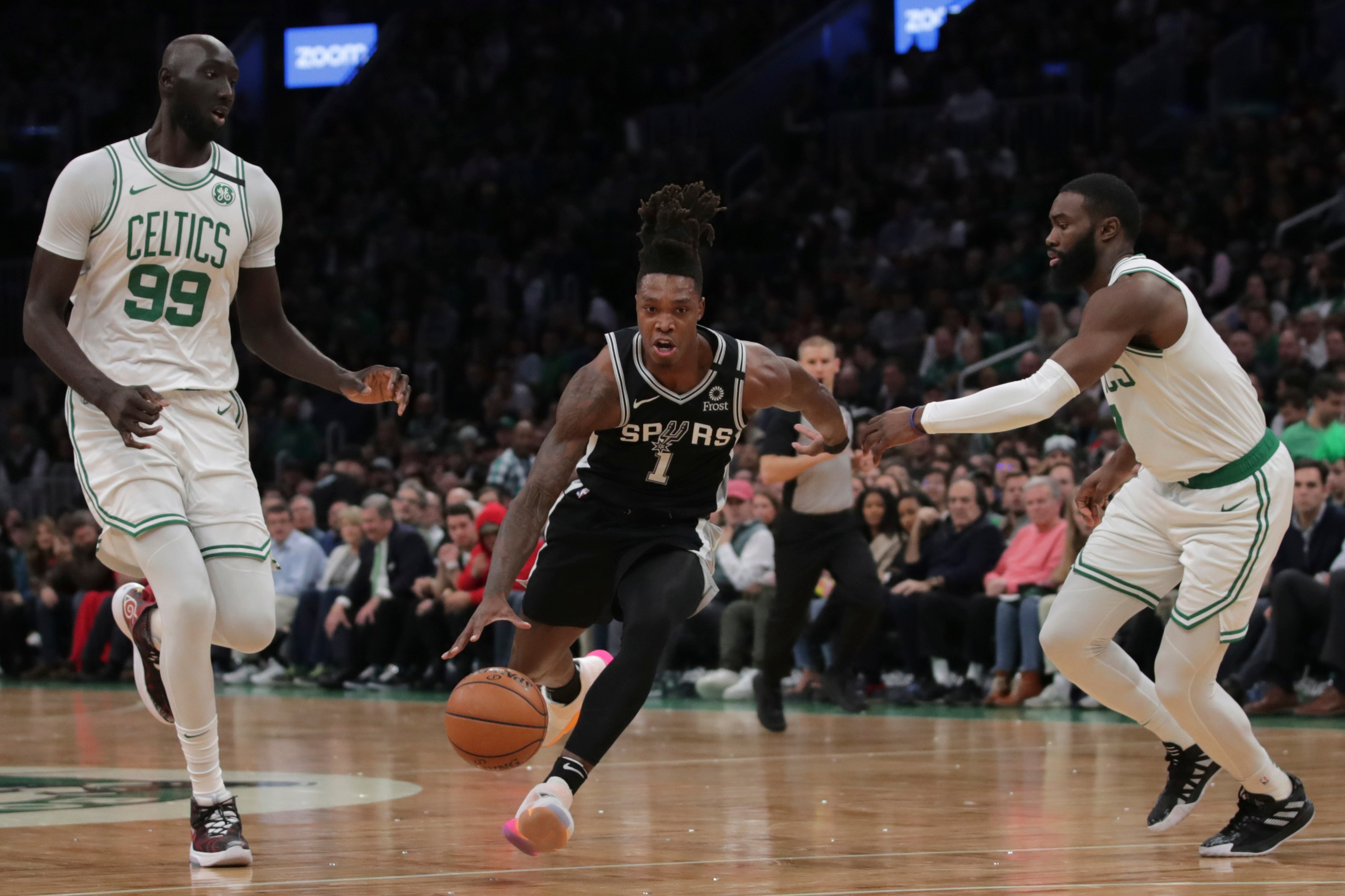 Tacko Fall And Jaylen Brown Show Off Their Quarantine Hobbies And Dish On Teammates On Instagram The Boston Globe Dave rubin interviews the youtuber bunty king. tacko fall and jaylen brown show off