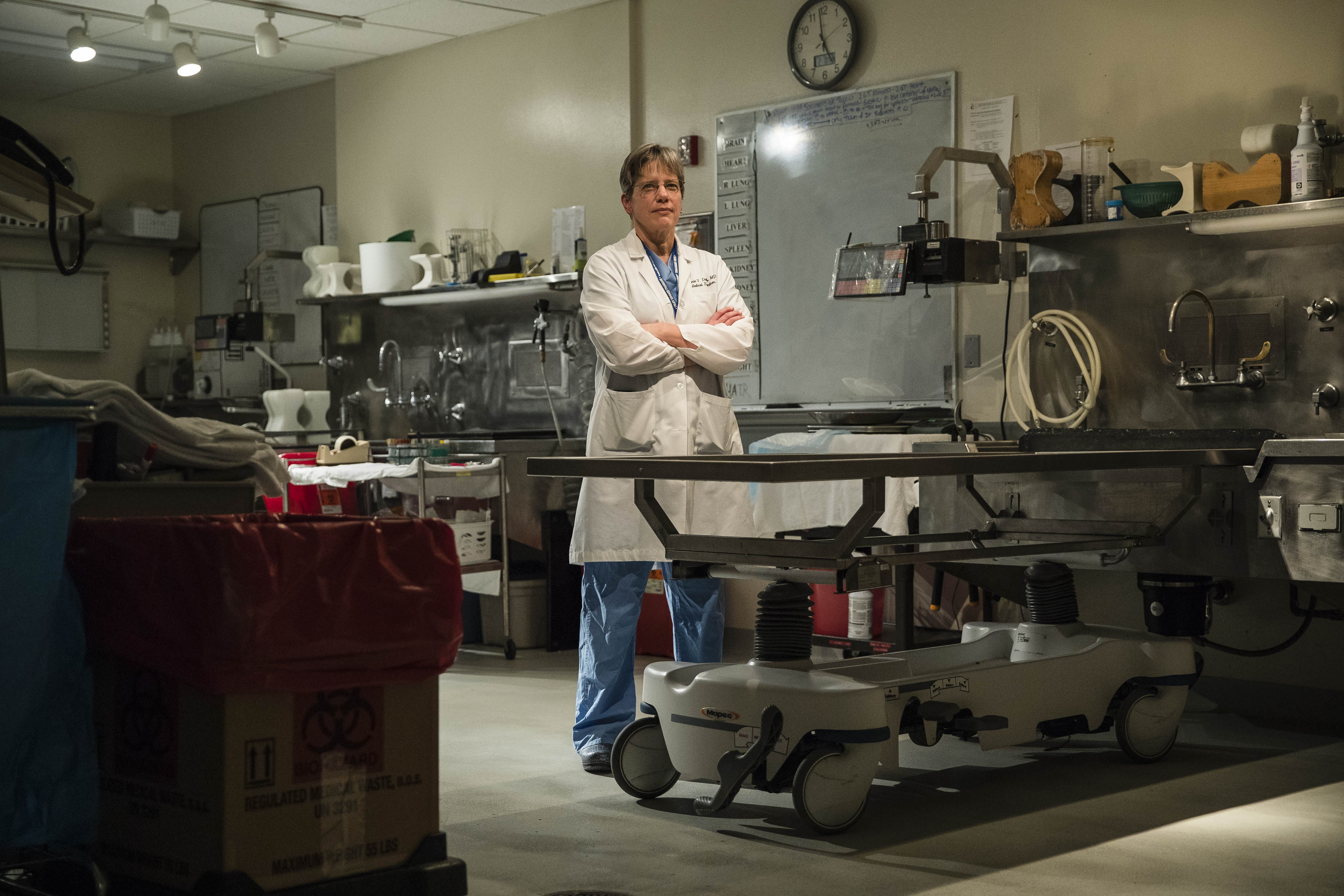 Opioid Crisis Weighs On New Hampshire S Chief Medical Examiner The Boston Globe