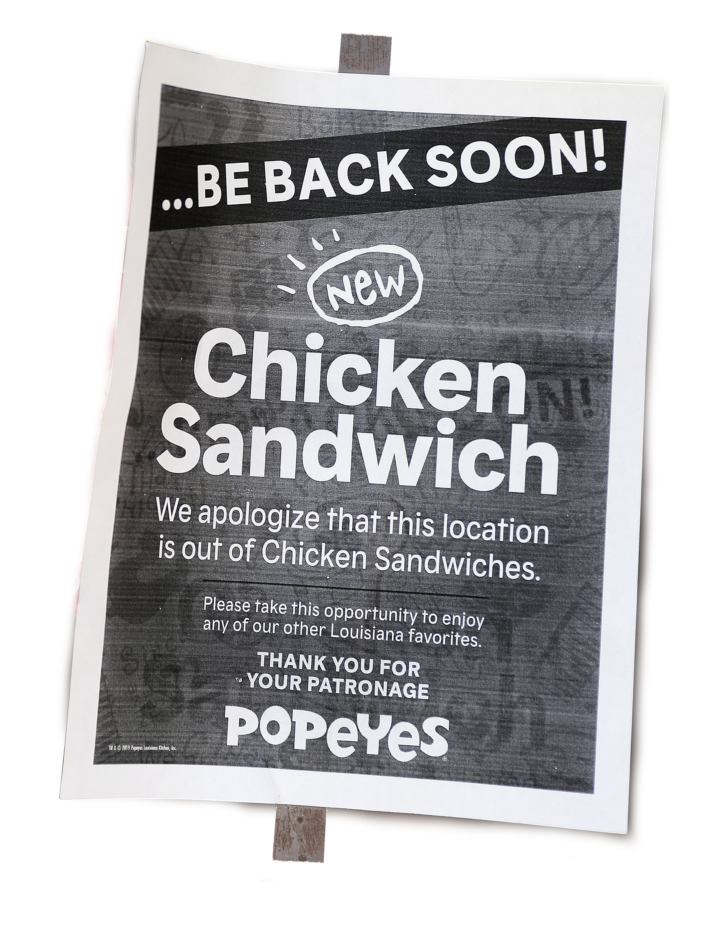 The Internet flipped out over Popeyes' chicken sandwich